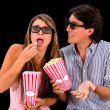 Couple at the movies — Stock Photo #23996697