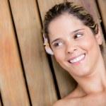 Beauty woman portrait — Stock Photo #24015789
