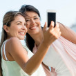 Stock Photo: Friends taking self portrait