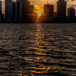 Sunset in Miami - Stockfoto