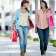 Royalty-Free Stock Photo: Women on a shopping spree