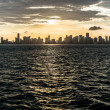 Miami sunset — Stock Photo