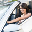 Woman driving a car — Stock Photo #24848277