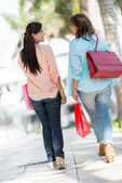 Female shoppers at the mall — Stock Photo