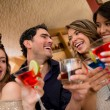 Friends having drinks — Stock Photo