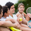 Group of tennis players — Stock Photo #24883137