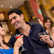 Couple having drinks — Stock Photo #24994107
