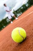 Tennis match — Stock Photo