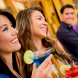 Stock Photo: Group of at bar