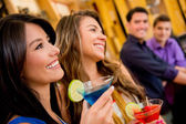 Group of at the bar — Stock Photo