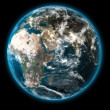 3D The Earth — Foto Stock