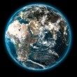 Stock Photo: 3D The Earth