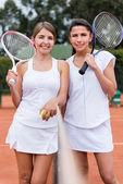 Игроки женского тенниса — Стоковое фото