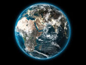3D The Earth — Stock Photo