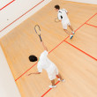 Stock Photo: Men playing squash