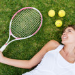 Tennis player — Stock Photo #25139121