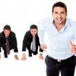 Competitive business — Stock Photo