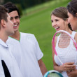 Group of tennis players — Stock Photo #25327851