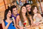 At the bar — Stock Photo