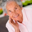 Stock Photo: Beautiful elder woman