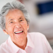 Very happy senior woman - Stock Photo