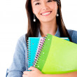 Stock Photo: Happy female student