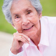 Stock Photo: Beautiful retired woman