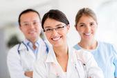 Zdravotnický personál — Stock fotografie