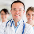 Group of doctors - Foto Stock
