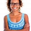 Confident black woman — Stock Photo