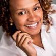 Beautiful African American woman — Stock Photo