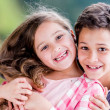 Happy kids smiling — Stockfoto #25821143