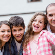Family having fun — Stock Photo #25962703