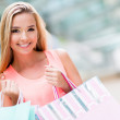 Woman with shopping bags — Stock Photo #25966039
