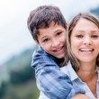 Mother and son — Stock Photo #26107379