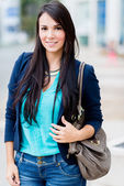 Beautiful casual woman — Stock Photo