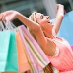 Happy shopping woman — Stock Photo #26154475