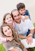Beautiful family — Stock Photo