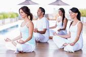 Grup yoga — Stok fotoğraf
