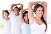 Yoga germe — Stok fotoğraf