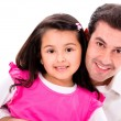 Happy father and daughter — Stockfoto #26633691