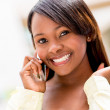 Woman talking on the phone — Stock Photo #26633773