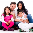 Happy family portrait — Stock Photo #26690449