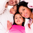 Family hug — Stockfoto