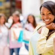 Shopping woman smiling — Stock Photo #26738593