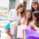 Happy shopping women — Stock Photo #26738609
