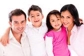 Piękny portret rodzina — Zdjęcie stockowe