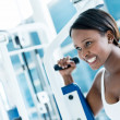 Gym womexercising — Stock Photo #26905227