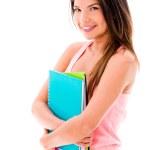 Happy female student — Stock Photo #27279205