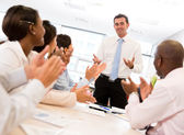 Successful business meeting — Stock Photo
